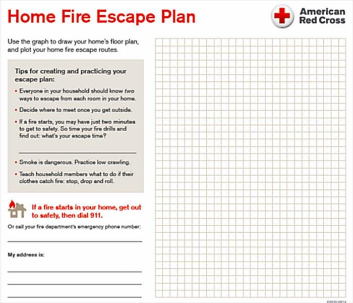 Fire Damage The Importance of a Fire Evacuation Plan For Your Home